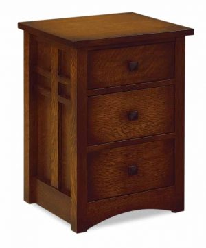 Kascade 3 Drawer Nightstand 021