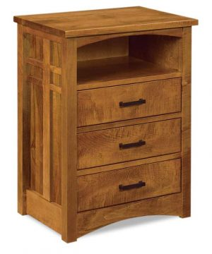 Kascade 3 Drawer Nightstand With Opening JRK 029