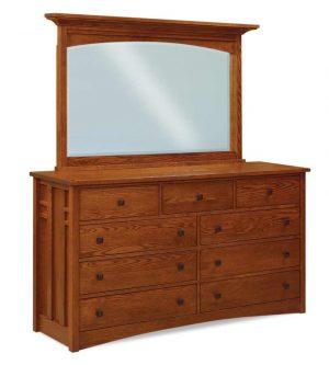 9 Drawer Mule Dresser Kascade