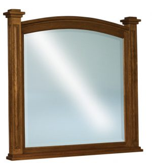 Lexington Beveled Arched Post Mirror JRL048
