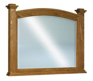 Lexington Beveled Arched Post Mirror JRL 030