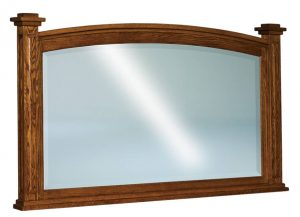 Lexington Beveled Arched Post Mirror JRL 031