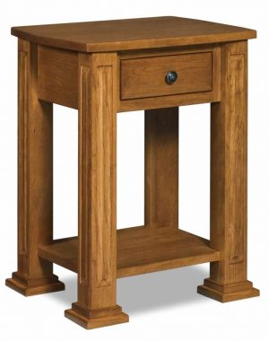 Lexington 1 Drawer Open Nightstand JRL 019