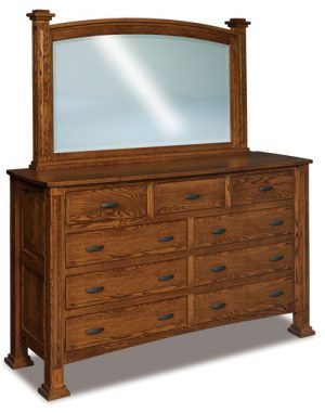 Lexington 9 Drawer Dresser JRL 073