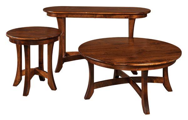 Round End Table CR24E