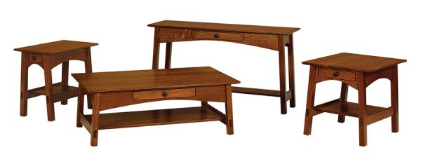 McCoy Open Sofa Table MCO1654S