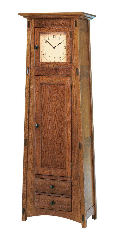 McCoy Clock (Glass Panel Door) MC1DRWCLK