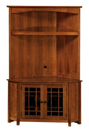 McCoy TV Corner Unit Hutch Top MCCNRTOP