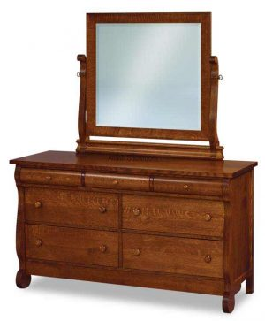 Old Classic Sleigh Dresser JRO 059 ( mirror not included)