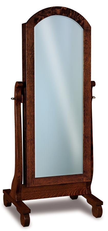 Old Classic Beveled Jewelry Mirror JRO 056-1