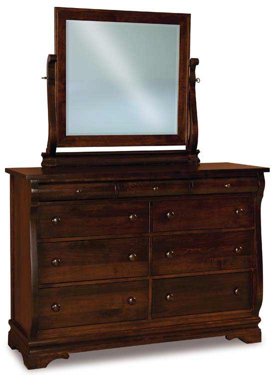 Chippewa Sleigh Dresser 058