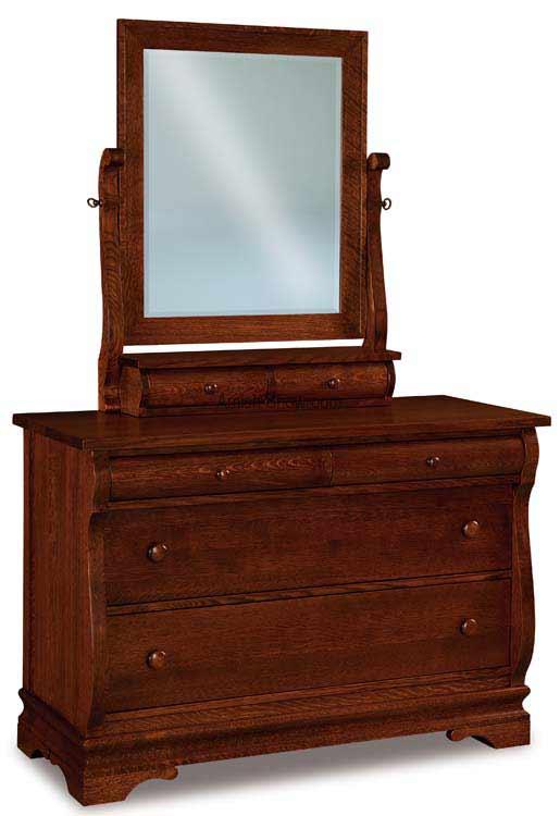 Chippewa Sleigh Dresser 051-1