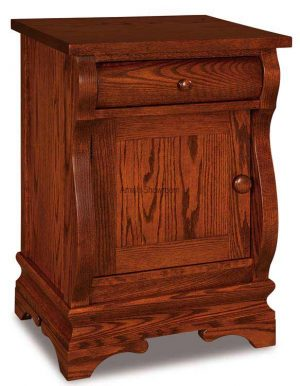 Chippewa Sleigh Nightstand JRCS 022