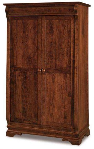 Chippewa Sleigh Wardrobe Armoire JRCS 050