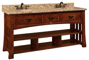 Mesa Vanity with inlay