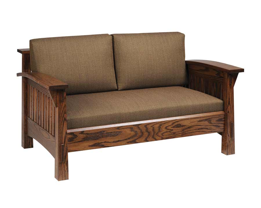 Country Mission Loveseat 4575