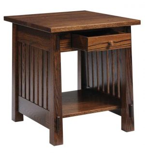 Country Mission End Table 4575