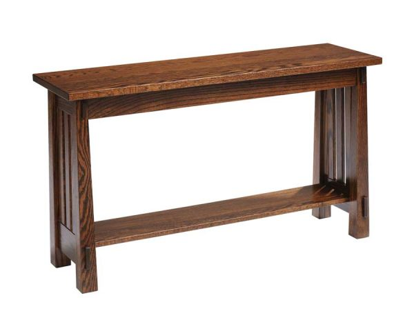 Country Mission Sofa Table 4575