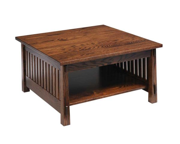 Country Mission Square Coffee Table - oak - 4575