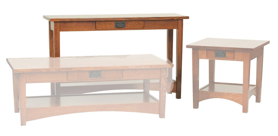 Arts Crafts Sofa Table For 500 00 In Living Room Amish Furniture