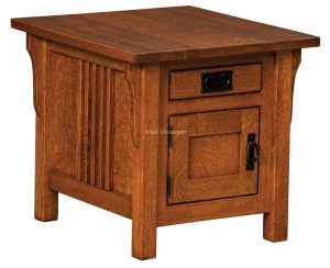 Camden Cabinet End Table