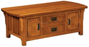 Craftsman Mission Cabinet Coffee Table