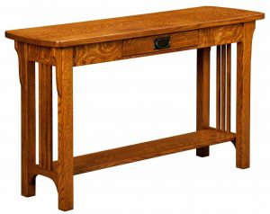 Craftsman Mission Sofa Table