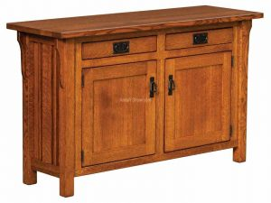 Elliot Mission Cabinet Sofa Table