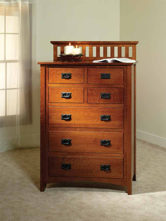 Mission Antique ... - Mission Antique Chest Of Drawers TR1004 For $1,450.00 In Bedroom