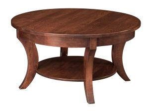 Madison Round Coffee Table 38""