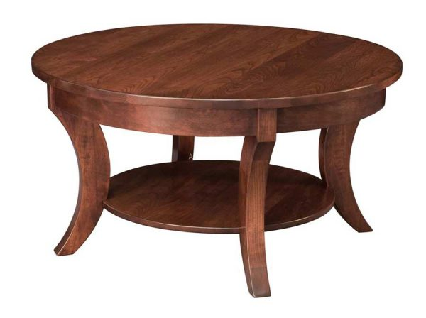 """Madison Round Coffee Table 38"""""""