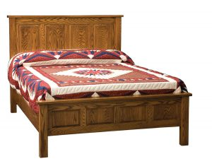 Indian Trail 4 Panel Bed ITF 074