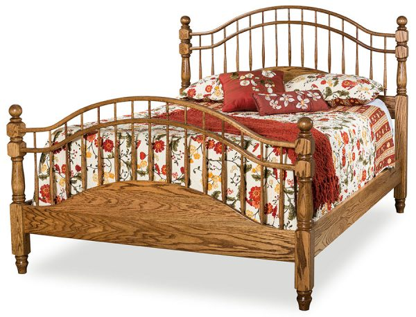 Double Bow Bed Indian Trails 095