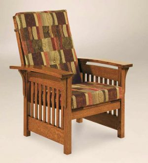 Bow Arm Slat Chair 750 BASC