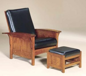 Bow Arm Panel Morris Chair 440 BAPMC