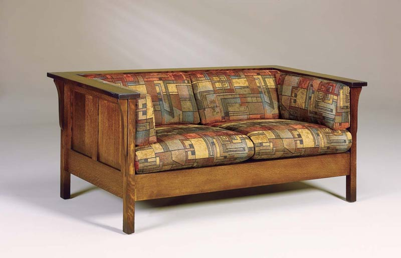 Cubic Panel Loveseat 142 CPL