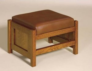 "Cubic Panel Footstool 20"" - 151 CPF"