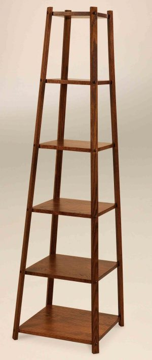 Tower Stand - Shown in oak wood   D-14
