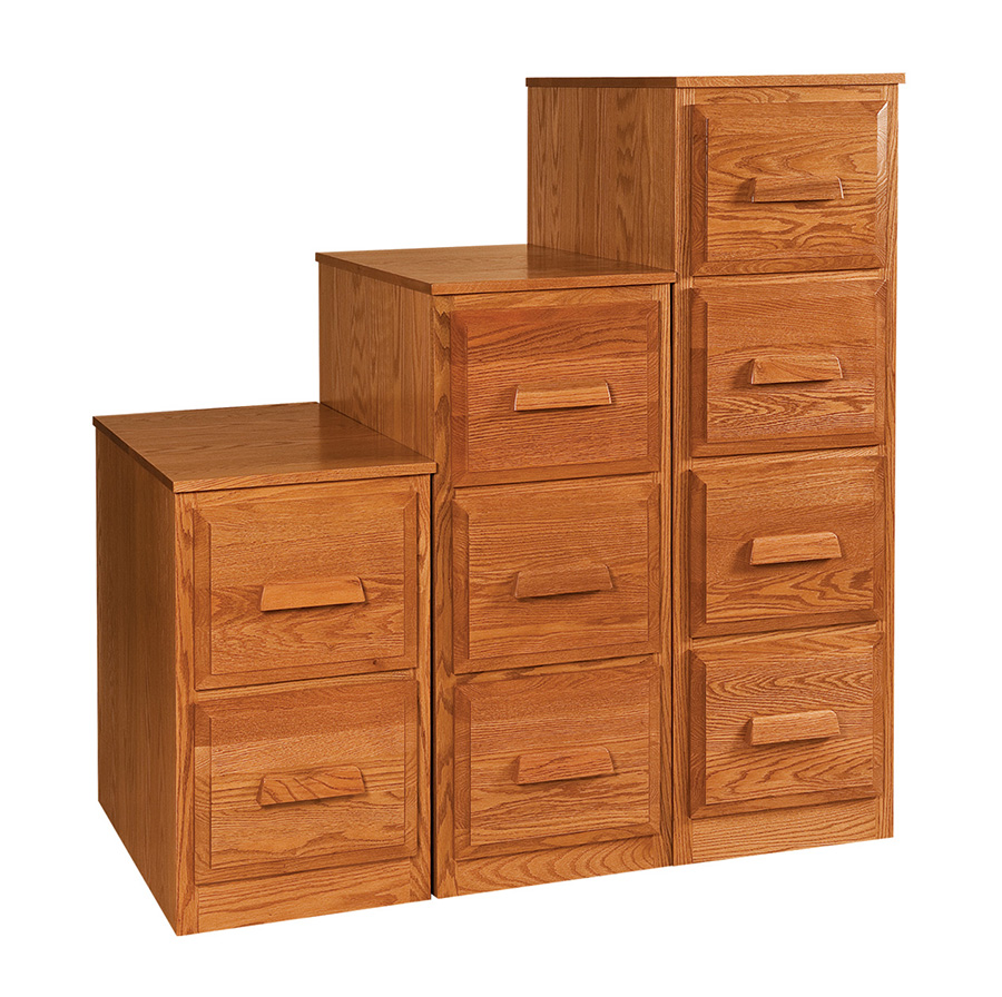 Custom Mission Style File Cabinets Solid Wood Amish Filing