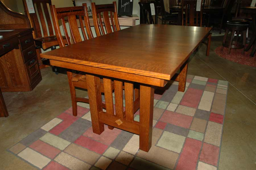 Narrow Livingston Trestle Table
