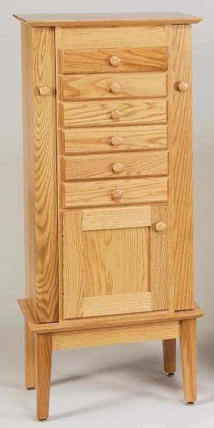"48"" Shaker Jewelry Armoire 120"
