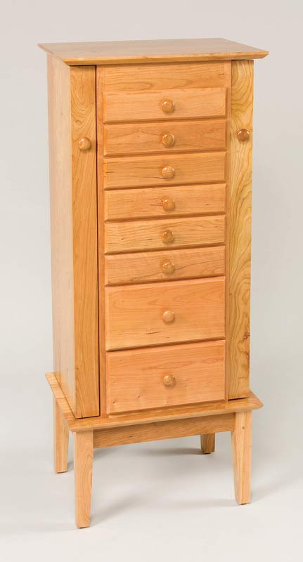 "48"" Shaker Jewelry Armoire 8 Drawers 122"