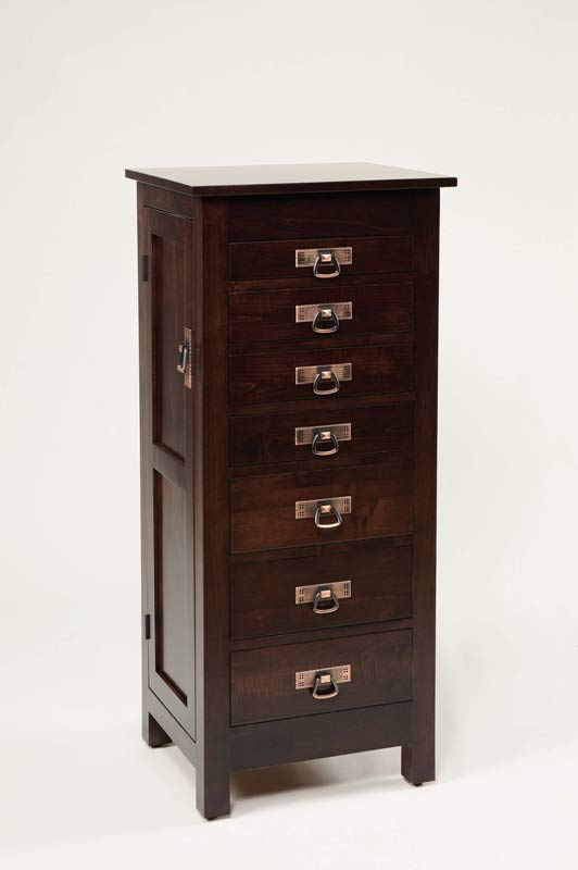 "48""  Mission Jewelry Armoire 150"