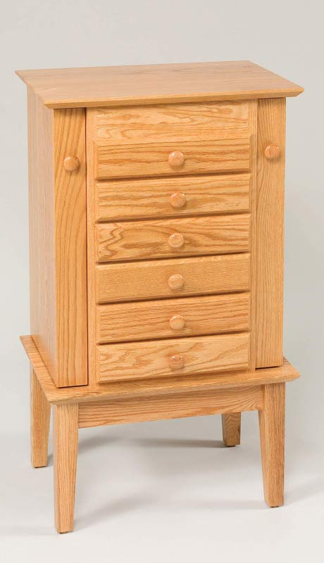 "35"" Shaker Jewelry Armoire 220"