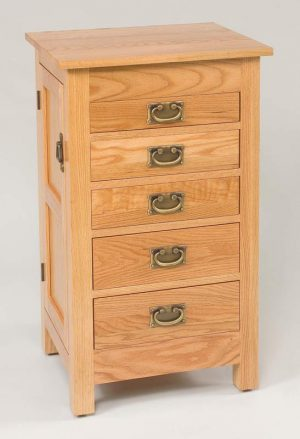 "35""  Mission Jewelry Armoire 250"