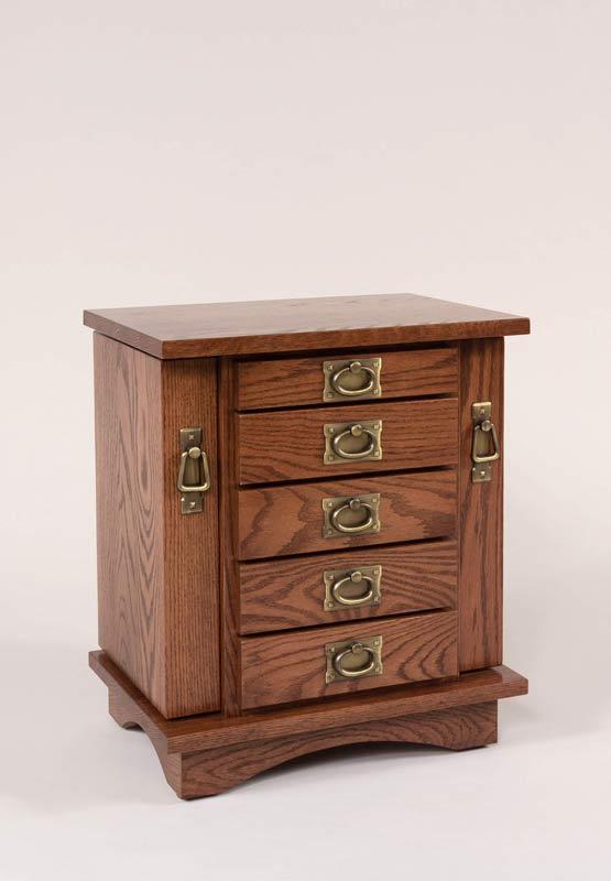 "20"" Dresser Top Jewelry Cabinet 330"
