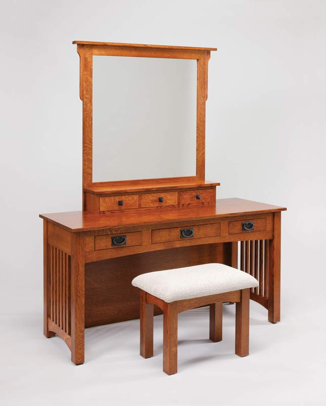 "60"" Mission Dressing Table 514"