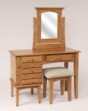 "42"" Shaker Jewelry Dressing Table 621"