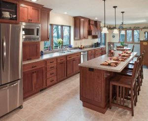 Amish Kitchen Cabinets   Custom American Made Kitchen ...