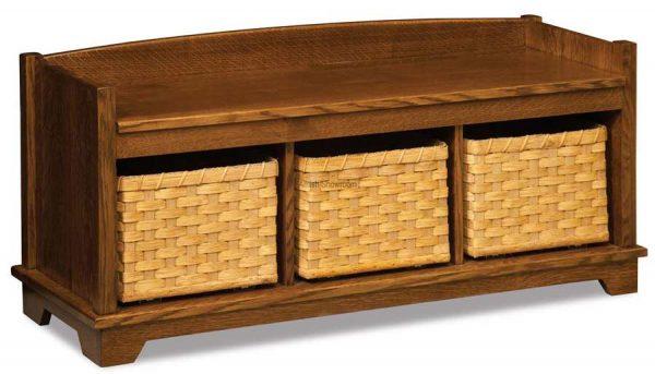 Lattice Weave Bench